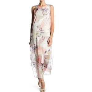 Vince Camuto Diffused Blooms Underlayer Sleeveless